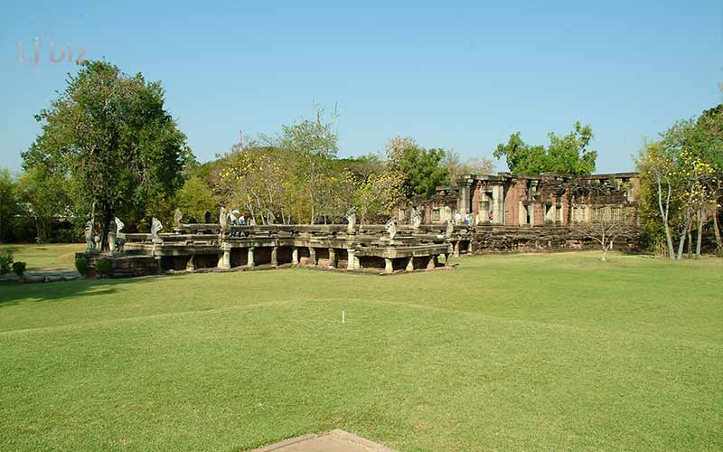 landscape of phimai sanctury