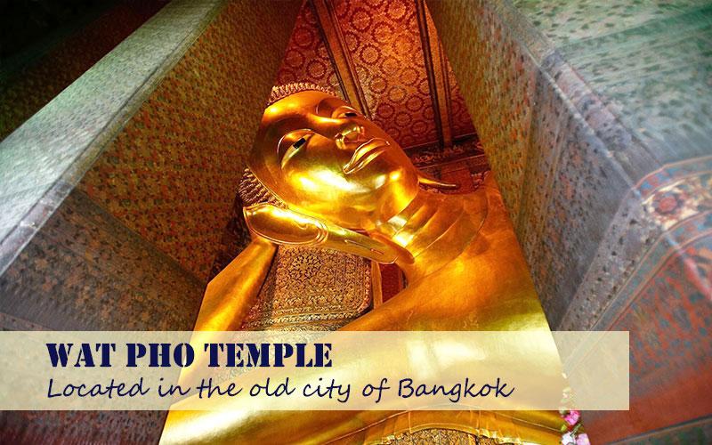 Wat Pho , Stunning Reclining Buddha Temple