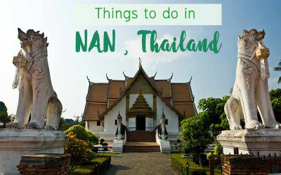 Things to do in Nan , more than mountain and rice field