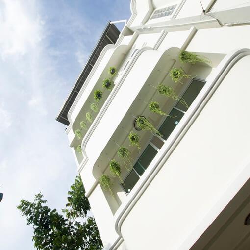Ayihome Bangkok townhouse ourside