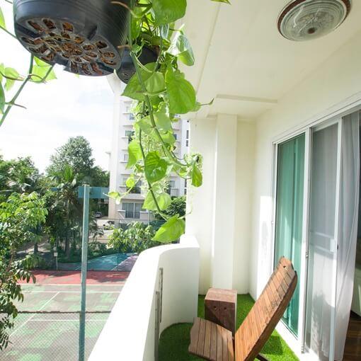 ayihome Bangkok townhouse balcony