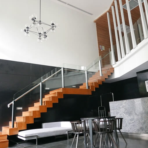 siemese condo building lobby