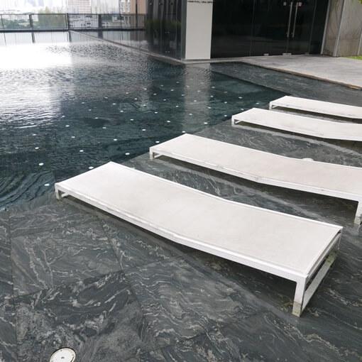 siemese condo building  swimming pool