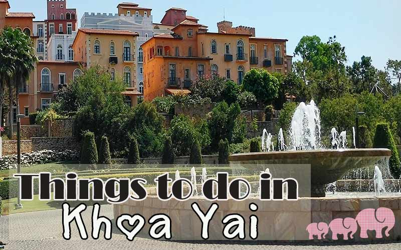 things to do khaoyai