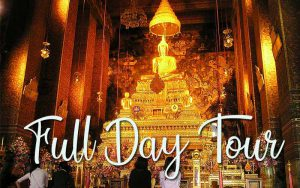Bangkok Full Day tour visit Wat pho