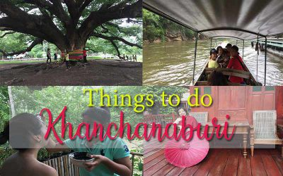 Kanchanaburi things to do more than the Bridge on the River Kwai