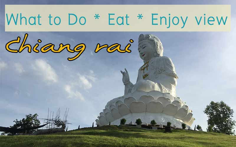 Huay Pla kang temple in Chiang rai
