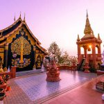 unseen temple in Lampang