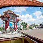 Thai bus Food tour China gate
