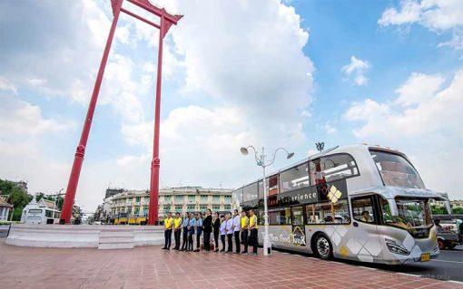 Thai bus Food tour giant swing
