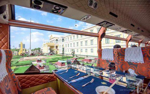 Thai bus Food tour pass ministry of defense