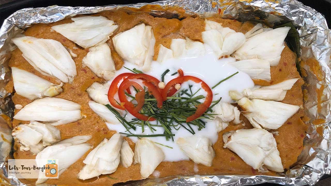 Crab curry Here Hai
