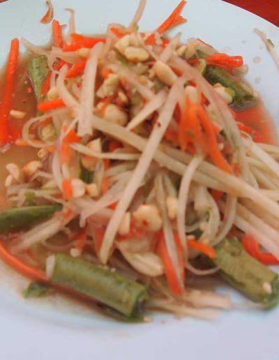 Somtam Thai cooking